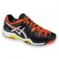 кроссовки для тенниса Asics GEL-RESOLUTION 6 CLAY BLK/WHT M