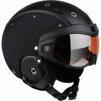 Горнолыжный шлем Bogner B- Visor Flames Black