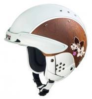 CASCO Горнолыжный шлем Шлем SP-3 Edelholz Chalet white