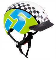 CASCO Велошлем Mini-Generation Racer 5 green-blue