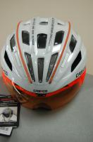 Велошлем Casco SPEEDster-TC plus white-orange, ONLY VO