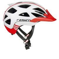 Велошлем Casco Activ 2 white-red shiny