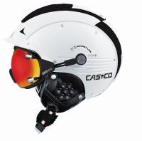 CASCO Горнолыжный шлем SP-5 white-black