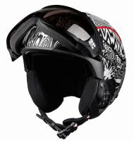 CASCO Горнолыжный шлем SP-6 black-white F1