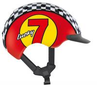 CASCO Велошлем Mini 2 Lucky 7 red