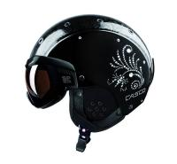 Горнолыжный шлем Casco SP-6 Visor Limited Crystal black