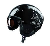 CASCO Горнолыжный шлем SP-6 Visor Limited Crystal black