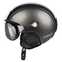 горнолыжный шлем Casco SP-3 comp. Gunmetal-white