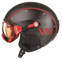 Горнолыжный шлем Casco SP-4 black-red