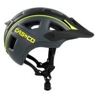 Велошлем Casco MTBE2 black-neonyellow matt