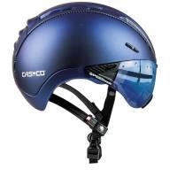 Велошлем Casco ROADSTER Plus navy metallic matt incl. Visor