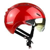 Велошлем Casco ROADSTER Plus red shiny (incl.Visor)