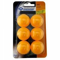 Мяч для настольного тенниса Donic Jade ball 40+ 6 шт orange (blister card)