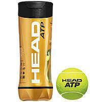 мячи для большого тенниса Head Мячи Для Большого Тенниса 3В HEAD ATP Lock