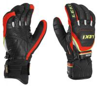 перчатки Leki Worldcup Race Coach Flex S GTX black-red-white-yel