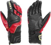 перчатки Leki Race Slide S black-red-yellow