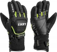 перчатки Leki Worldcup Race Coach Flex S GTX black-yellow