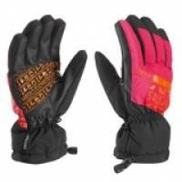 Перчатки Leki EleMents Cerium S berry-orange-black