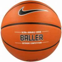 Баскетбольные мячи Nike BALLER  AMBER/BLACK/METALLIC SILVER/BLACK size 7
