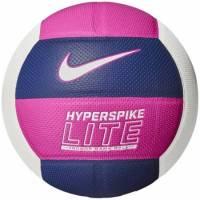 волейбольный мяч Nike HYPERSPIKE LITE 12P BLUE VOID/FIRE PINK/WHITE size 5