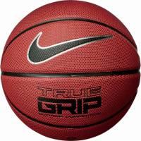 Баскетбольные мячи Nike TRUE GRIP OT 8P AMBER/BLACK/METALLIC SILVER/BLACK size 7