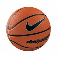 Баскетбольные мячи Nike Dominate AMBER/BLACK/METALLIC PLATINUM/BL