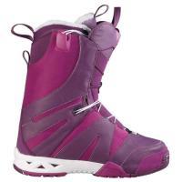 ботинки для сноуборда Salomon F2.0 W BLACK/DEEP PLUM/WHITE