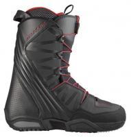 ботинки для сноуборда Salomon MALAMUTE BLACK/BRIGHT RED/BLACK