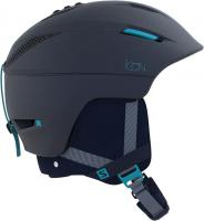 Горнолыжный шлем Salomon HELMET ICON C.AIR WISTERIA NAVY BLUE