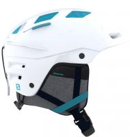 Горнолыжный шлем Salomon HELMET QST CHARGE W WHITE/BLUE BIRD
