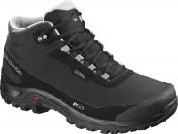 ботинки Salomon SHELTER CS WP Black/Bk/Frost Gray