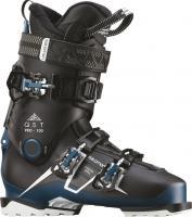 горнолыжные ботинки Salomon QST PRO 100 Black/Petrol Blue/Wh