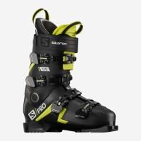 Горнолыжные ботинки Salomon S/PRO 110 BLACK/Acid Green/Wh