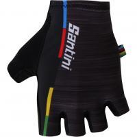 велоперчатки Santini велоперчатки UCI summer gloves short wrist length