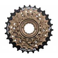 Велозапчасти Shimano Звезды задние Shimano MF-TZ500-6 Tourney 6ск. 14-28T бронз.