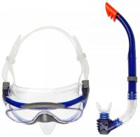 маска+трубка Speedo Glide Mask & Snorkel Set