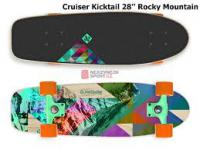 скейт Street surfing Скейт Cruiser Kicktail, ROCKY MOUNTAIN