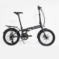 Велосипед Vento FOLDY ADV  Black Matt