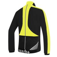 Zerorh+ Велокофта Blowy Wind Jersey black-acid yellow