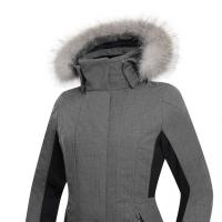 куртка Zerorh+ Jackie KR Fur W Jacket Melange Grey-Black